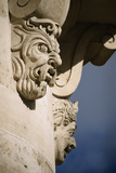 Faces in Architecture - Pont Neuf, Paris - Detail Photographic Print by Robert ODea