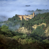 Abbazia Di Monte, Oliveto Maggiore, Tuscany, Italy Photographic Print by Joe Cornish