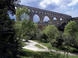 Nimes, Pont Du Gard - Languedoc, France Photographic Print by Sigrid Schutze-Rodemann