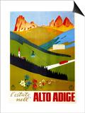 Alto Adige Poster