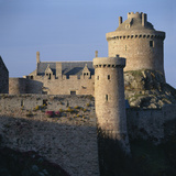 Fort La Latte, Cap Frehel, Brittany. 10th Century, Rebuilt 14th Century Photographic Print by Joe Cornish