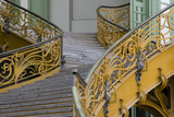 Stairs to the Gallery, Inside the Grand Palais, Paris, France Photographic Print by Sigrid Schutze-Rodemann