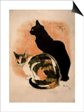 Steinlen, Two Cats Posters
