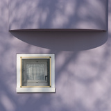 Venice Architectural Detail. Low Income Housing Development. Mazzorbo Photographic Print by Mike Burton
