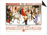 Underground to Wood Lane Prints