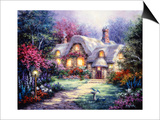 Garden Cottage Prints by Nicky Boehme