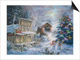 Country Shopping Posters by Nicky Boehme
