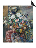 Bunch of Flowers, 1912 Konst av Lovis Corinth