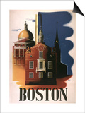 Boston Architecture Posters