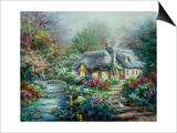 Little River Cottage Pósters por Nicky Boehme