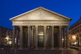 The Pantheon at Dusk, Rome, Italy Photographic Print by David Clapp
