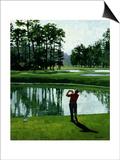 Golf Course 9 Prints by William Vanderdasson