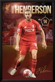 Liverpool- Henderson 15/16 Poster