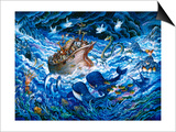 Noah's Voyage Posters af Bill Bell
