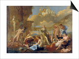 The Realm of Flora, 1630-31 Prints by Nicolas Poussin