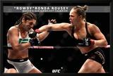Ronda Rousey- Rowdy Ronda Bantamweight Champion Posters
