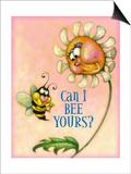 Bee Prints by Margaret Wilson