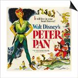 Peter Pan, 1953 Poster
