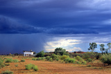Northern Territory, Approaching Thunderstorm over the Outback at Curtin Springs Photographic Print by Marcel Malherbe
