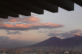 Hotel Romeo, Naples. Restaurant Terrace and Mount Vesuvius Photographic Print by Richard Bryant