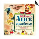 Alice in Wonderland, 1951 Art