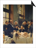 Before the Operation, or Doctor Pean Teaching at Saint-Louis Hospital, 1887 Posters by Henri Gervex