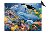 Sealife Prints by Jenny Newland