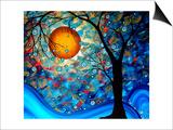 Blue Essence Prints by Megan Aroon Duncanson