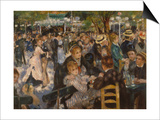 Ball at the Moulin De La Galette, 1876 Prints by Pierre-Auguste Renoir
