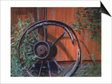 Wagon Wheel Prints by Rusty Frentner