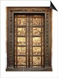 Gates of Paradise Plakater af Lorenzo Ghiberti