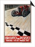 Circuit del Pozzo Italy Print