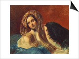 Portrait of a Turkish Woman, 1837-39 Prints by Karl Brüllow