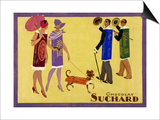 Candy People Chocolat Suchard Poster