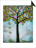 Chickadee Tree 2 Poster by Blenda Tyvoll