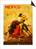 Turismo Mexico II Posters
