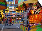 Fair games and prizes, Indiana State Fair, Indianapolis, Indiana, Sztuka autor Anna Miller