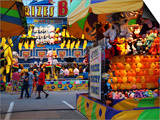 Fair games and prizes, Indiana State Fair, Indianapolis, Indiana, Art by Anna Miller
