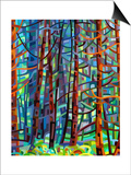 In a Pine Forest Art by Mandy Budan
