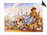 Noah's Happy Ending Posters af Bill Bell