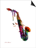 Saxophone 2 Posters by Mark Ashkenazi