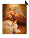 Good Night Prayer Prints by Edgar Jerins