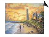 Lighthouse Posters by John Zaccheo