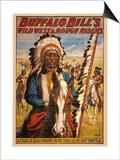 Buffalo Bills Wild West II Posters