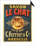 Savon Le Chat Prints