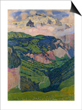 The Jungfrau, View from the Isenfluh, 1902 Poster by Ferdinand Hodler