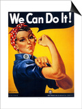 We Can Do It Posters