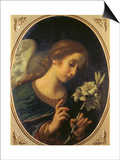 Angel of the Annunciation Plakater af Carlo Dolci
