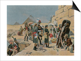 Bonaparte with the Savants in Egypt Art by Maurice Henri Orange