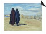 Sudanese Women, 1914 Plakater af Max Slevogt